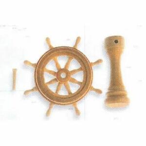 Conjunto rueda timon 30mm modelismo naval Artesania Latina 8237
