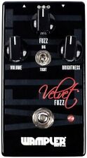Wampler Velvet Fuzz Pedal (Velvet Fuzz Pedal) Stompbox w/ Voicing Switch IN BOX!