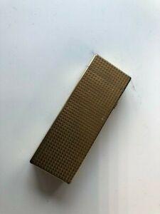 Vintage 1970's Gold plate Dunhill Cigarette Lighter.