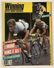 Vintage 1984 Winning Cycling Bicycle Racing Illustrated Magazine Issue #6 Lemond