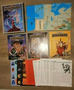 Forgotten Realms: Campaign Setting (Boxed Set), AD&D 2nd Ed., RPG