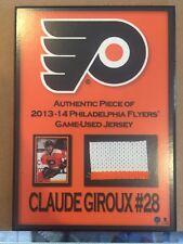 PHILADELPHIA FLYERS CLAUDE GIROUX #28 2013-14 Piece Of Jersey