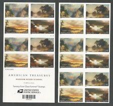 4917-4922 IMPERF Hudson River School booklet.  PO FRESH MINT NH