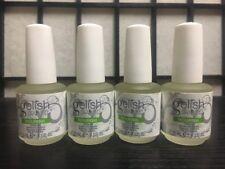 Lot Four 4 Gelish Nourish Cuticle Oil 15 ml .5 fl oz