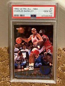 1992 Ultra Charles Barkley ALL-NBA PSA 10 Insert card POP 12