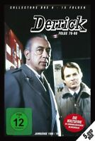 "DERRICK ""COLLECTORS BOX VOL 6 (EP. 76-90)"" 5 DVD NEU"