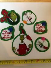 The Grinch Who Stole Christmas Fabric Iron On Appliques Style#11 Christmas