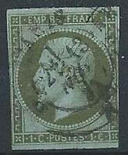 1853-60 FRANCIA USATO NAPOLEONE III 1 CENT - EDF001