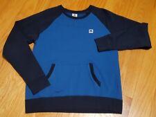 DC Shoes Mens Crew Pullover Fleece Sweatshirt Shirt Medium blue amazing