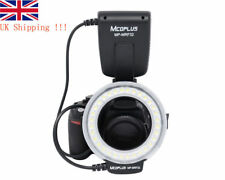 Royaume-Uni Boutique! mcoplus DEL Macro Ring Flash Light FC-100 pour Canon Nikon OM Pentax