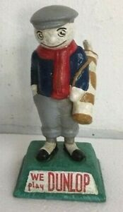 Fantastic Model of the DUNLOP Advertising GOLF Man GOLFER Golfing #vo