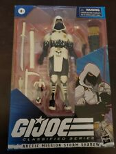 Amazon Exclusive - G.I Joe Classified Arctic Mission Storm Shadow Figure in hand