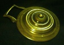 Antique Boss Concentric Circles Horse Harness Brass from England Wow Your Walls!