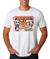 Captain Spaulding Murder Ride T-Shirt - Fried Chicken & Gasoline BBQ
