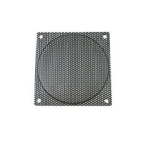 140mm Medium Size Hole  Steel Mesh Black Fan Filter