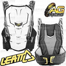 Leatt Adult Adventure Back Protector Back Body Armour White Double Extra Large