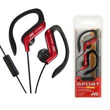 JVC HA-EBR80-R Athletic Sport Clip Style Earbud Headphones w HAEBR80 Red