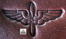 US Navy Aviation Machinist Mate Insignia Metal Leather Stamp Letter Press Clay
