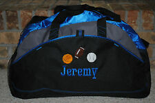 Custom Duffel Personalized with a Design Embroidered Gym Travel Sports bag Large