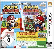 3DS Downloadcode Mario und Donkey Kong + Mario vs. Donkey Kong kein Versand