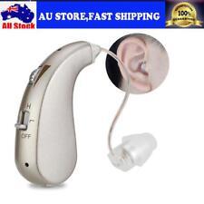 Rechargeable Digital Hearing Aids Earhook Deafness Sound Amplifier For Elderly