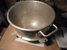 "Used: Industrial Mixing Bowl for Hobart Mixer: Insider Diameter at top = 14"","