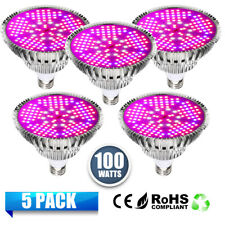 E27 100W LED Grow Light 150pcs LEDs Full Spectrumt for Indoor Plants Hydroponic