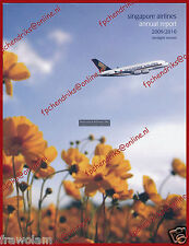 SINGAPORE AIRLINES - ANNUAL REPORT 2010-2011