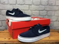 NIKE UK 4 EU 36.5 BLUE AIR ZOOM STEFAN JANOSKI SB PREMIUM TRAINERS CHILDRENS