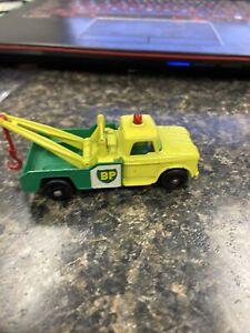 vintage lesney matchbox no 13 dodge wreck truck