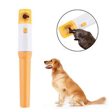 LH Cat Dog Nail Grinder Electric Grooming Trimmer Clipper File Claw Pet Supplies
