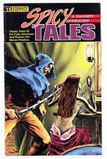 SPICY TALES #15 - 1990 Eternity Comics - pre-code pulp comic strip reprints