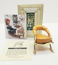 Willitts Designs Take a Seat Miniature San Demas Chair Mini Dollhouse Furniture
