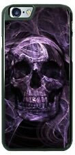 The Purple Flaming Skull Phone Case For iPhone 11 Pro Samsung A20 A50 LG Google