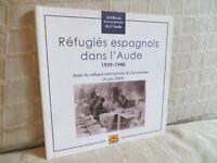 réfugiés espagnols dans l'Aude 1939-1940 actes du colloque de Carcassonne 2004