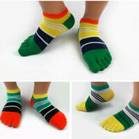 1Pair Men's Deodorant Toe Five Finger Socks Ankle Sports Breathable Low Cut Sock