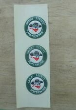 '80S (3)SKOAL BANDITS PORTION PACK PUFF  DECAL