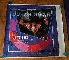 DURAN DURAN - ARENA - ORIGINAL ROLLED ROCK PROMO POSTER - PRINTER'S PROOF (1984)