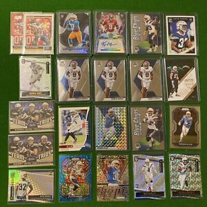 2020 Mosaic Prizm Chargers Lot x22  Kenneth Murray RC Auto Keenan Allen Bosa /25