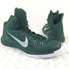 Nike Hyperdunk Lunarlon Sz 17 US Athletic Basketball Shoes Green 685777-301 New