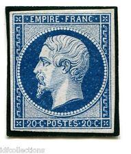 Classique France Napoléon N°14Aa bleu foncé en neuf sans gomme