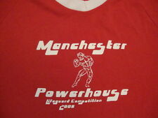 Manchester Powerhouse 2008 Lifeguard Competition Bodybuilding Gym T Shirt M