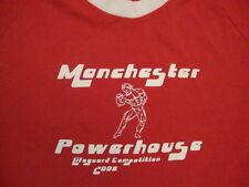Manchester Powerhouse 2008 Lifeguard Competition Bodybuilding Gym T Shirt M