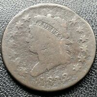 1812 Large Cent Classic Head One Cent 1c Circulated Rare Clipped Planchet #17711