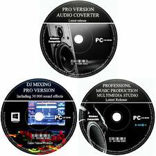 Pro beatmaker Musikproduktion Studio-DJ Mixing Audio Editor Recorder Software