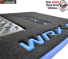 Subaru Impreza WRX STI 2002-2007  Luxury Carmats for Right Hand Drive Vehicle