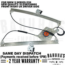 BMW 5 SERIES E39 FRONT RIGHT DRIVER SIDE ELECTRIC WINDOW REGULATOR 1995-2004 NEW