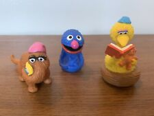 Vintage Applause Sesame Street PVC Figurines Cake Toppers- Lot of 3