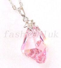 Handgefertigte Modeschmuck-Halsketten & -Anhänger aus Kristall für Damen