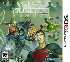 Young Justice: Legacy [Nintendo 3DS, TV Super Hero Action, DC Comics] NEW